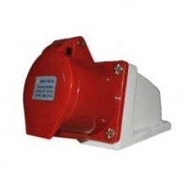 Розетка HT-115 16А стационарная 3Р+РЕ+N 380В IP-44