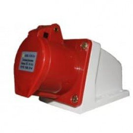 Розетка HT-125 32А стационарная 3Р+РЕ+N 380В IP-44