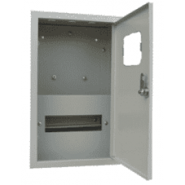 Щит металлический учетно-распределительный наружный ЩРУ 1н-09 IP31 400х250х147мм