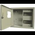 Щит металлический учетно-распределительный наружный ЩРУн 1н-12Г IP31 250х300х130мм