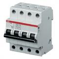 Автоматический выключатель четырехполюсный ABB S204 C10 6kA