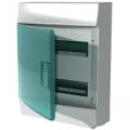 Бокс настенный ABB Mistral41 24М зеленая дверь без клеммного блока