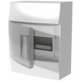 Бокс настенный ABB Mistral41 8М прозрачная дверь с клеммным блоком