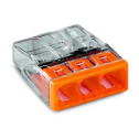 Клемма монтажная Wago 3 (0.75-2.5mm) (медь+алюм)