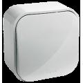 782200 Выключатель одноклавишный Белый Legrand Quteo