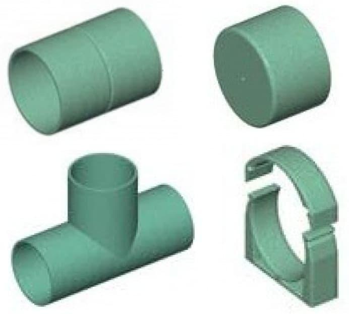 Фасонные изделия для труб